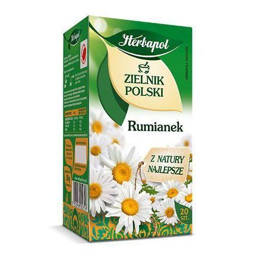 Herbatka ziołowa Zielnik Polski Rumianek EX'20 30 g Herbapol