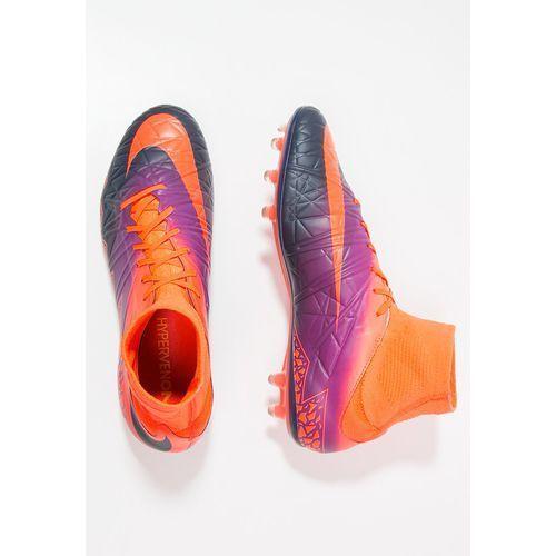 Nike Performance HYPERVENOM PHATAL II DF FG Korki Lanki total crimson/obsidian - sprawdź w wybranym sklepie
