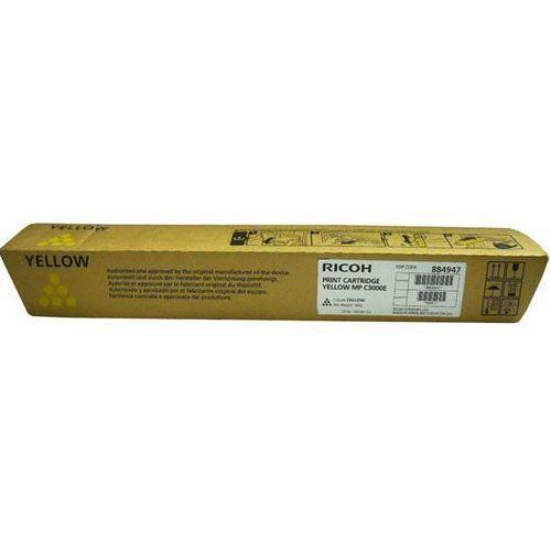 Ricoh oryginalny toner 888641, 884947, 842031, yellow, 15000s, ricoh mpc 2000, 2500, ad, 3000, ad (4250081510219)