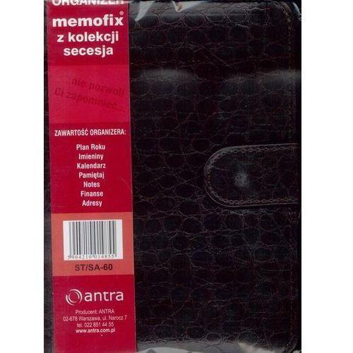 Organizer memofix z kolekcji secesja st/sa-60 bordowy wąż - marki Antra