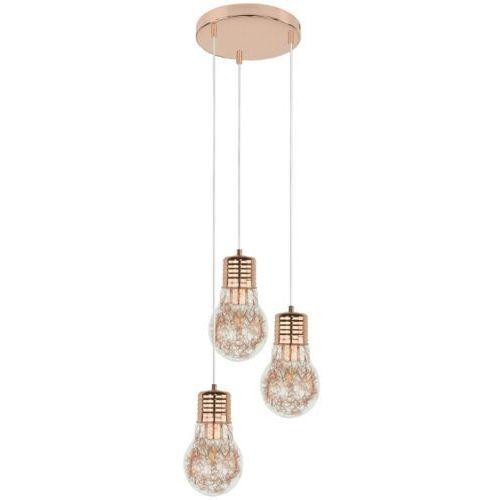Lampa wisząca zwis Britop Lighting Bulb 3x60W E27 miedź 2820313, kolor Miedziany