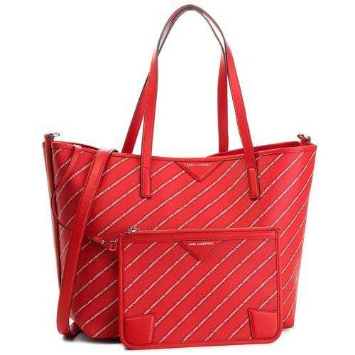 Torebka KARL LAGERFELD - 86KW3062 Ruby, kolor czerwony