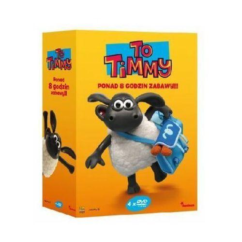 To timmy. części 1-4 pakiet (4 dvd) marki Galapagos films