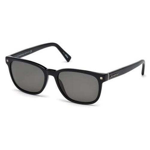 Ermenegildo zegna Okulary słoneczne ez0075 polarized 01d