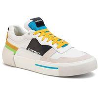 Diesel Sneakersy - s-dese mg low y02109 p2462 h7813 star white/hawaiian