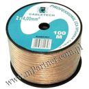 Przewód głośnikowy kabel CCA 2x4 mm