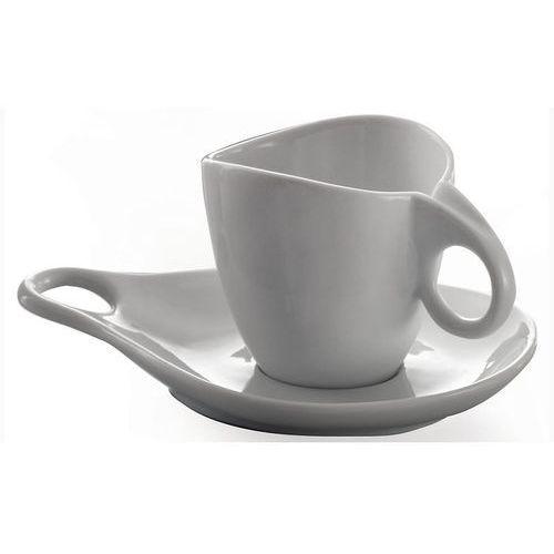 - milla zestaw 6 filiżanek do herbaty ze spodkiem marki Bugatti