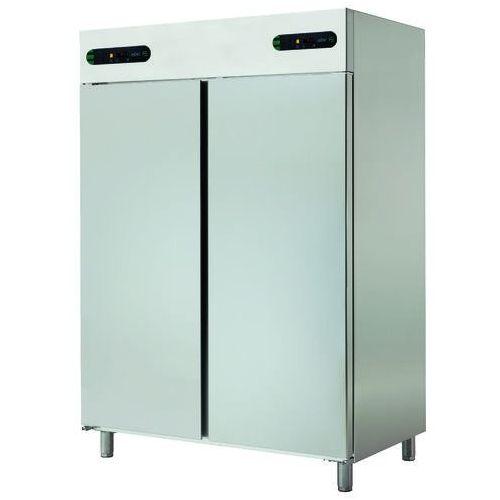 Asber Szafa chłodnicza 2-drzwiowa z oddzielnym sterowaniem temperatury, 2x700 l, 1388x826x2008 mm   , ecp-1402/2