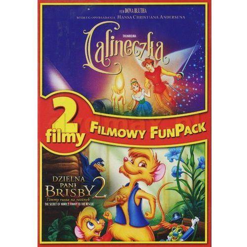 Calineczka/ dzielna pani brisby (dvd) - bluth don darmowa dostawa kiosk ruchu marki Imperial cinepix