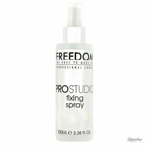 - pro studio professional fixing spray - spray utrwalający makijaż marki Freedom