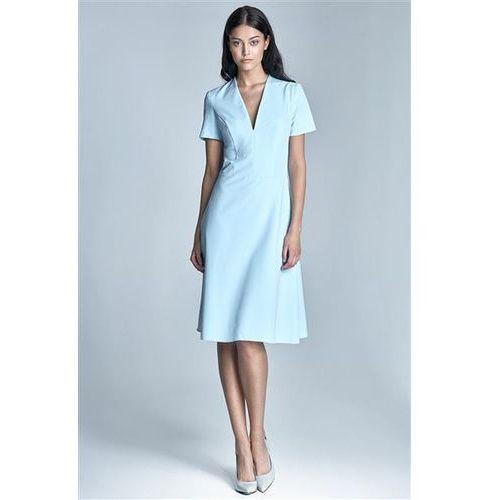 Sukienka Model Ginny S71 1231 Sky Blue