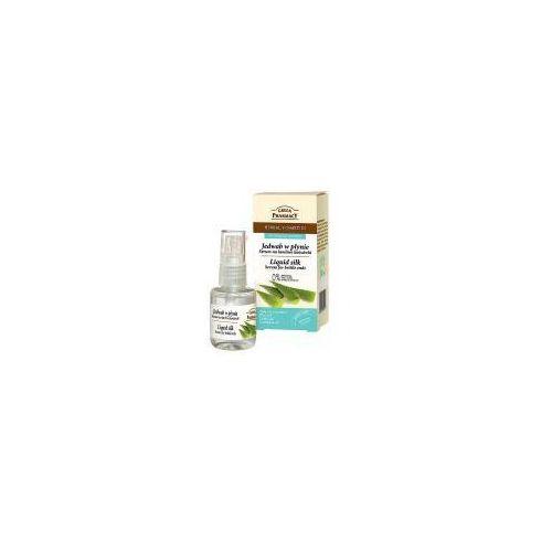 Green pharmacy , jedwab w płynie na łamliwe końcówki, 30 ml