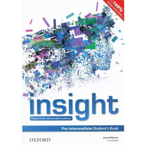 Insight Pre-Intermediate Students Book (Ministry Approved) (Poland) (9780194002653)