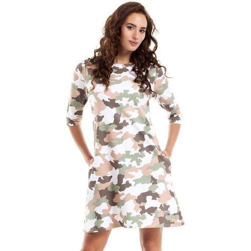 MOE236 Sukienka moro model 2