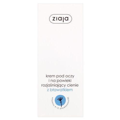 Ziaja Krem pod oczy i na powieki rozjaśniający cienie z bławatkiem 15 ml (5901887000426)