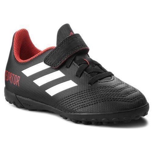 Adidas Buty - predator tango 18.4 tf j h db2341 cblack/ftwwht/red