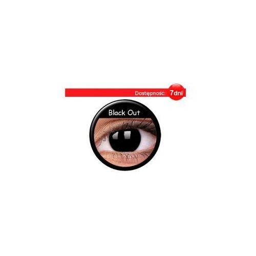 Crazy Wild Eyes - Black Out - 2 sztuki - produkt z kategorii- Soczewki kontaktowe