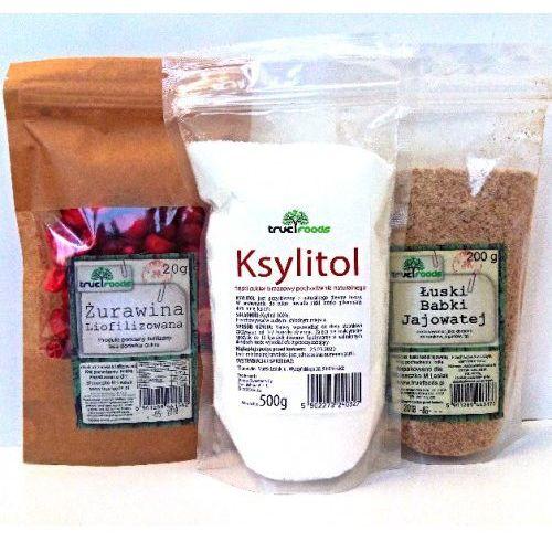 True foods Dieta oxy (ksylitol 500g+ żurawina 20g+łuski babki jajowatej 200g)