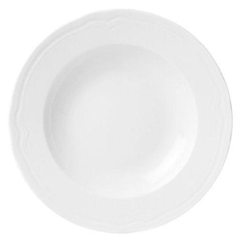 Fine dine Talerz głeboki porcelanowy śr. 23.5 cm classic