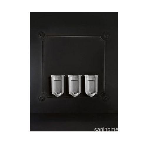 Waldorf pisuar ceramiczny 44x69x37 cm 413001 marki Kerasan