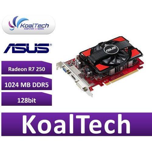 Radeon r7 250 1gb ddr5 128bit pci-e dvi/hdmi/dsub box od producenta Asus