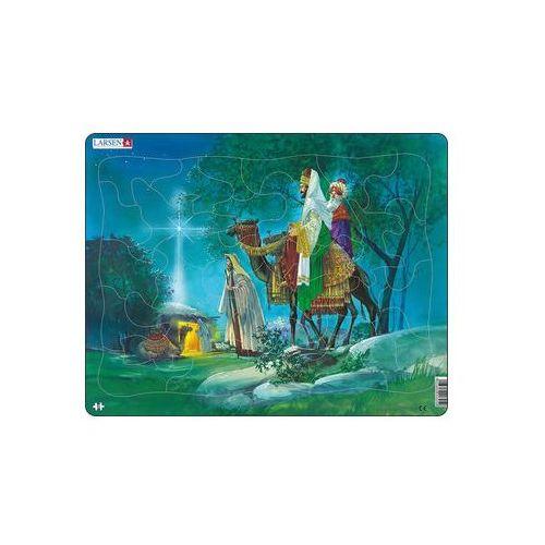 Neuveden Puzzle maxi - bible - 3 králové/33 dílků (7023850203059)