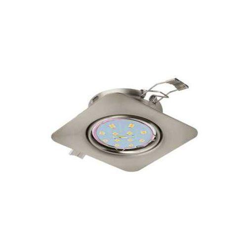 Oprawa wpuszczana Eglo Peneto 94264 downlight oczko 1x5W GU10-LED nikiel mat, 94264