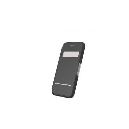 Moshi SenseCover - Etui z klapką dotykową iPhone 6 Plus (czarny) Odbiór osobisty w ponad 40 miastach lub kurier 24h (4712052317123)