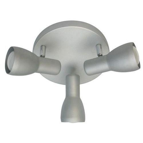 Plafon oprawa lampa sufitowa Candellux Picardo 3x40W E14 szaro srebrny 98-44242, 98-44242