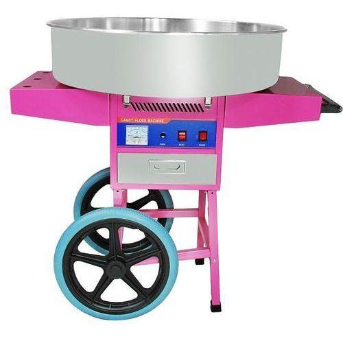 Maszyna do waty cukrowej z wózkiem | śr.720mm | 900w | 720x750x(h)910mm marki Cookpro. Najniższe ceny, najlepsze promocje w sklepach, opinie.