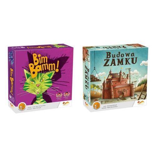 Foxgames Gra - bim bamm! + budowa zamku - pakiet (5907078169712)