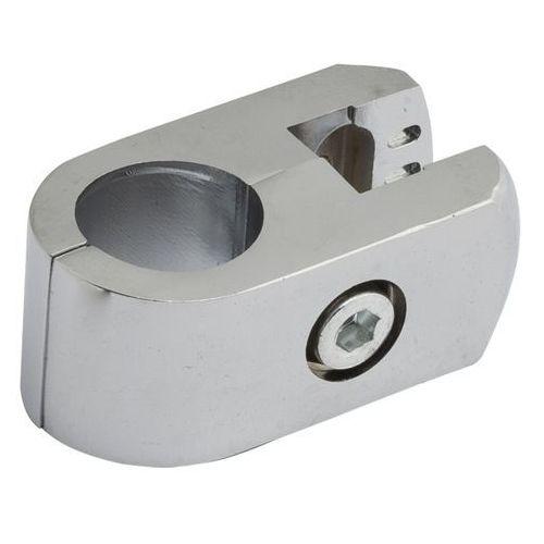 Złącze pojedyncze płaskie Ibis 1 fi 25 mm chrom, TR550-A-CHR