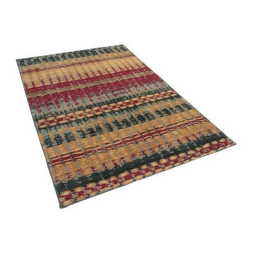 Dywan kolorowy 140 x 200 cm krótkowłosy MARMARIS (4260602370444)