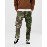 Levi's hi-ball skater tapered fit 2 camo print cargo trousers in green - green