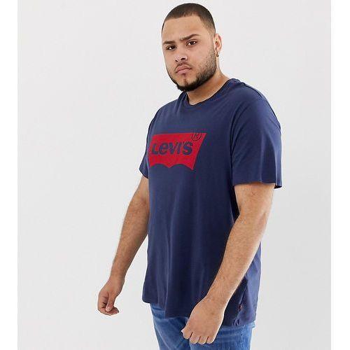Levi's big & tall batwing t-shirt dress blues - blue marki Levis