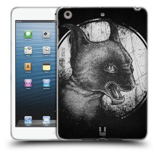 Etui silikonowe na tablet - CATS OF GOTH BLACK AND GREY