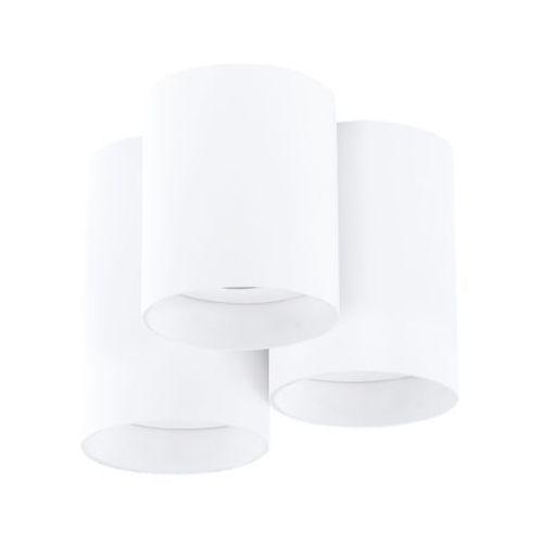 Plafon Eglo Lasana 94633 lampa oprawa natynkowa sufitowa spot 3x3,3W GU10 LED biały, kolor Biały