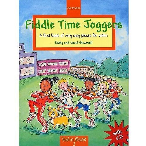blackwell kathy, david - fiddle time joggers. violin book 1 (utwory na skrzypce + cd) marki Pwm