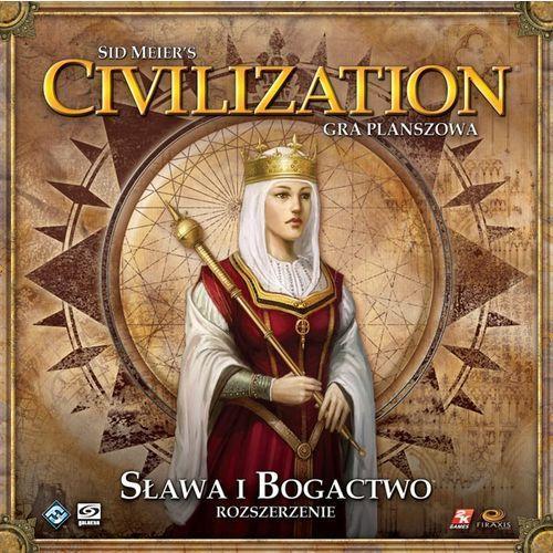 Sid meier's civilization: sława i bogactwo od producenta Fantasy flight games