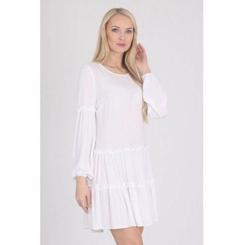 Sukienka Model F1 White, kolor biały