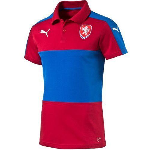 Puma koszulka czech republic casuals polo chili pepper s (4056204385616)