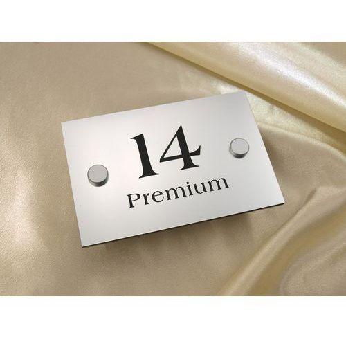 Tabliczki z numerem i nazwą apartamentu - SZ014a - wym. 120x80mm
