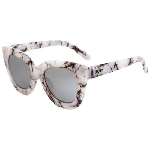 Okulary słoneczne qw-000085 sugar and spice whtmar/slv marki Quay australia