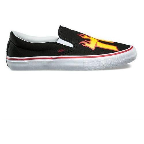 Buty - slip-on pro (thrasher) black (ote) rozmiar: 34.5 marki Vans