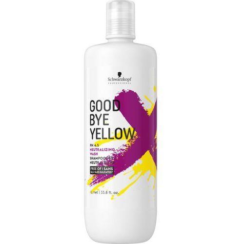 Schwarzkopf goodbye yellow | szampon neutralizujący żółte odcienie 1000 ml