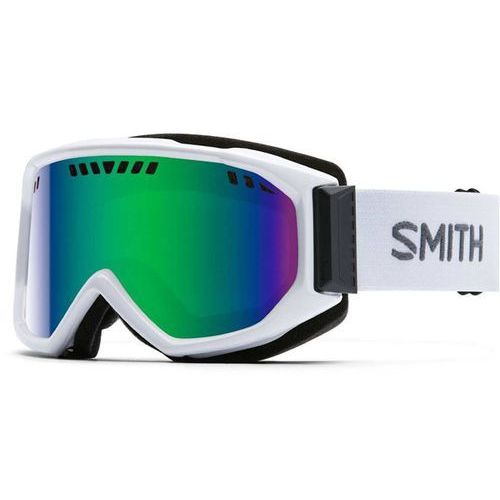 Gogle snowboardowe - scope pro white green sol-x mirror (99c5) rozmiar: os marki Smith