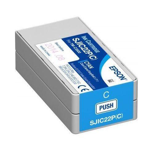 Epson Pojemnik z tuszem do drukarki colorworks c3500 (cyjan)