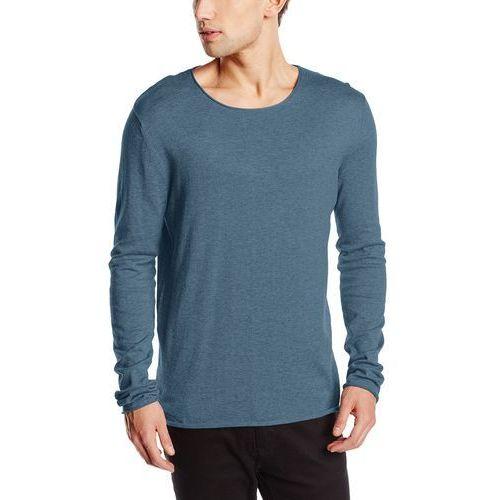 Sweter męski Selected Homme shddome Crew Neck noos - xl, kolor niebieski