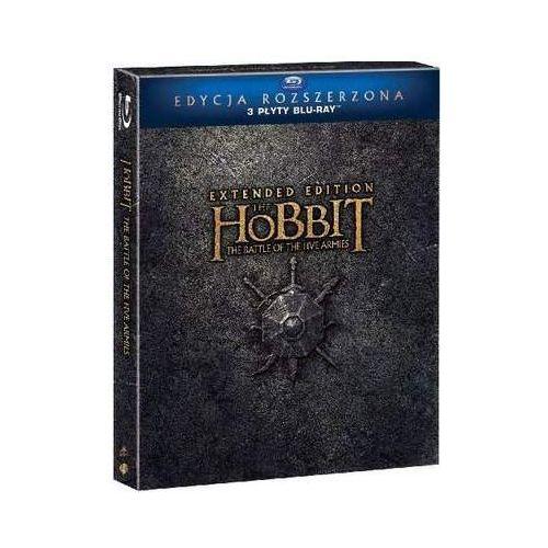 Hobbit: Bitwa Pięciu Armii - Wydanie rozszerzone (3 Blu-ray) (7321999339036)