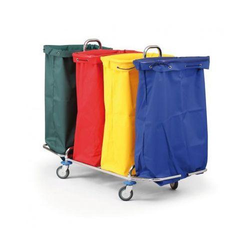 B2b partner Wózek na bieliznę lub odpady segregowane, 4 worki